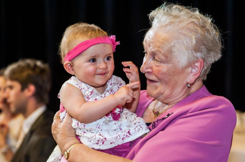 Dvě generace, dva úsměvy na památku