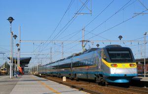 vlakem do Vídně