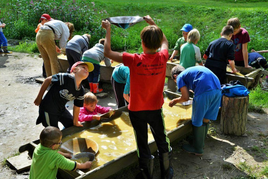 Zábava pro děti na Šiklově mlýnu